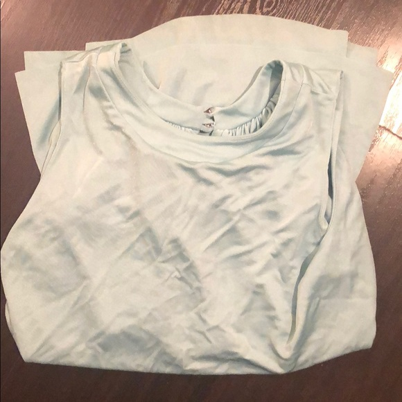 cris barros Tops - Cris Barros blue silk blouse